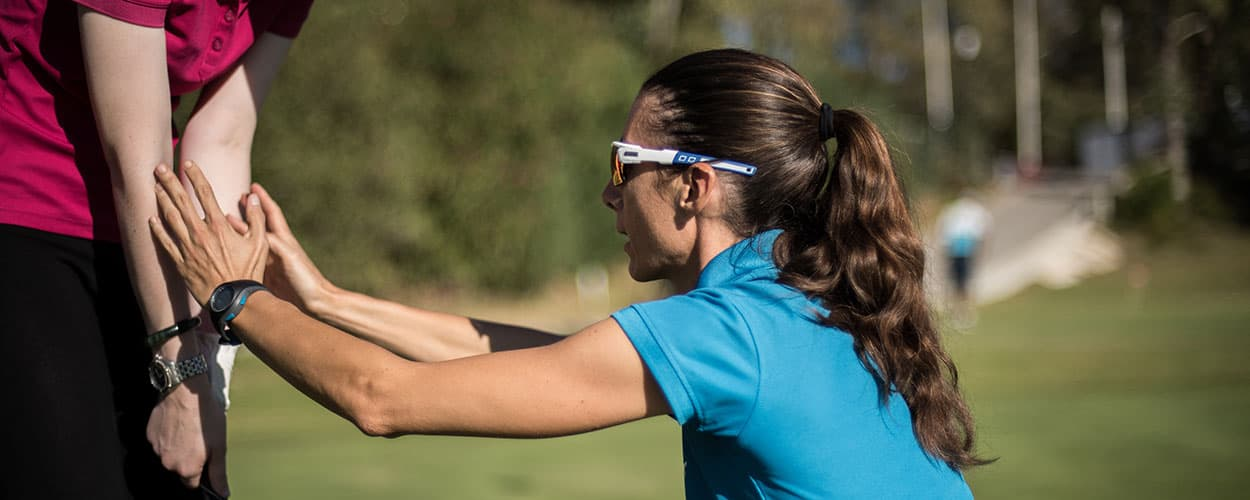 Chiara Cantone - Healthy golf lessons